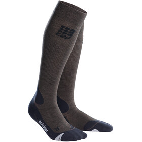 cep Pro+ Merino Outdoor Socks Men brown/black